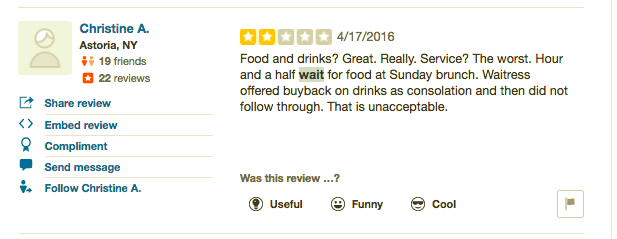 Do Restaurants Win or Lose when Review Sites Manage their