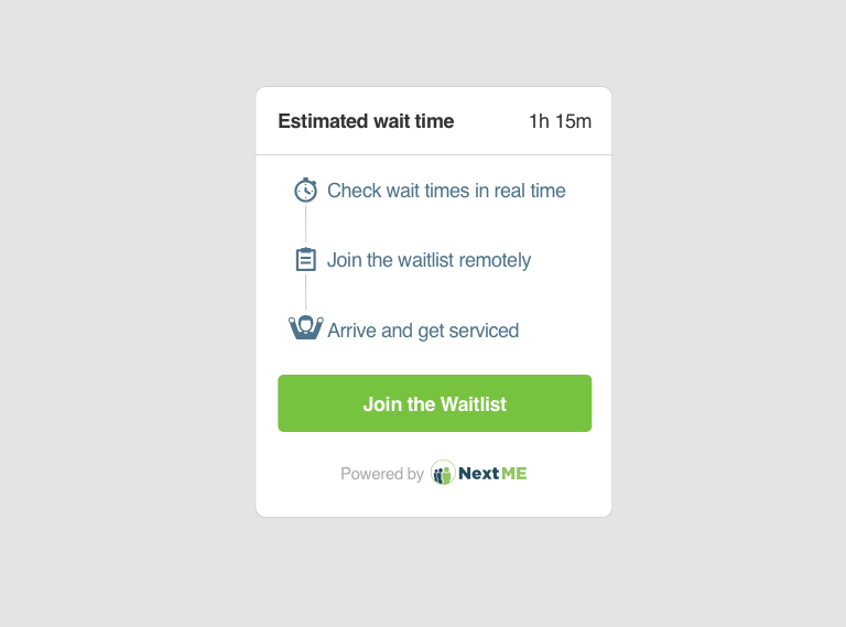 NextME Predictive Analytics to Forecast Wait Times in Medical Clinics