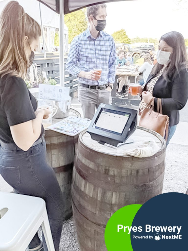 Brewery Flourishes with NextME's Virtual Waiting Room - Pryes Brewery